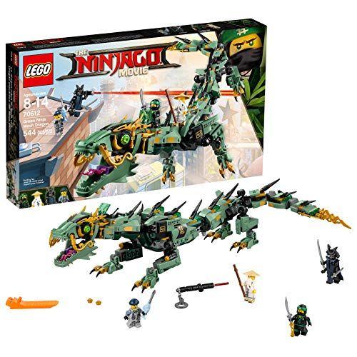 LEGO Ninjago Movie Green Ninja Mech Dragon 70612 Ninja Toy with Dragon Figurine Building Kit …
