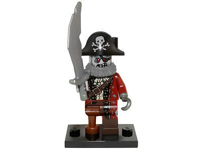 NEW LEGO MINIFIGURES SERIES 14 71010 – Zombie Pirate 673419231534 | eBay