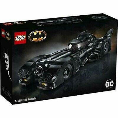 Ad – LEGO DC SUPER HEROES 1989 BATMOBILE 76139 BATMAN 5702016469110 16+