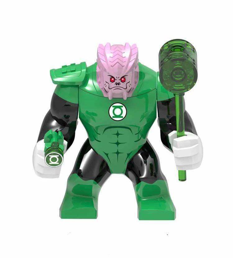Green Lantern Kilowog Minifigures Compatible Lego Toy Superhero Minifigure