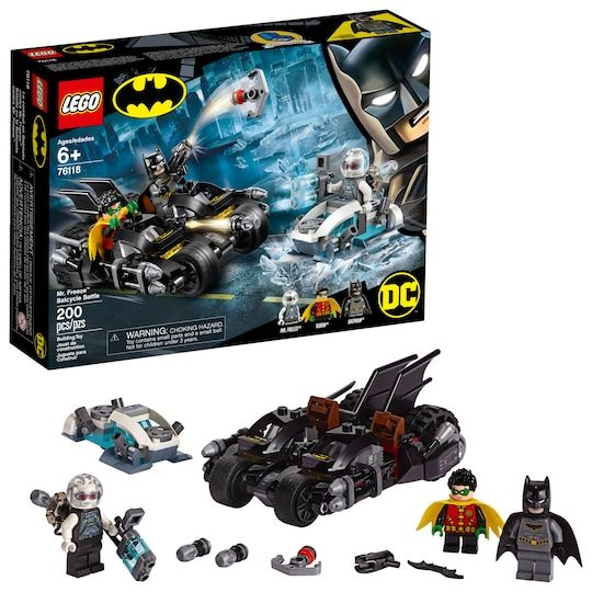 Lego® DC™ Batman™ Mr. Freeze™ Batcycle™ Battle