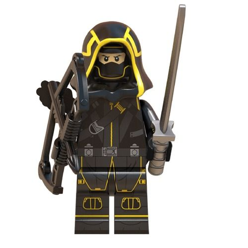 Ronin HAWKEYE Avengers Endgame Custom Mavrel DC Super Heroes Minifigs Minifigures Fit Lego W663