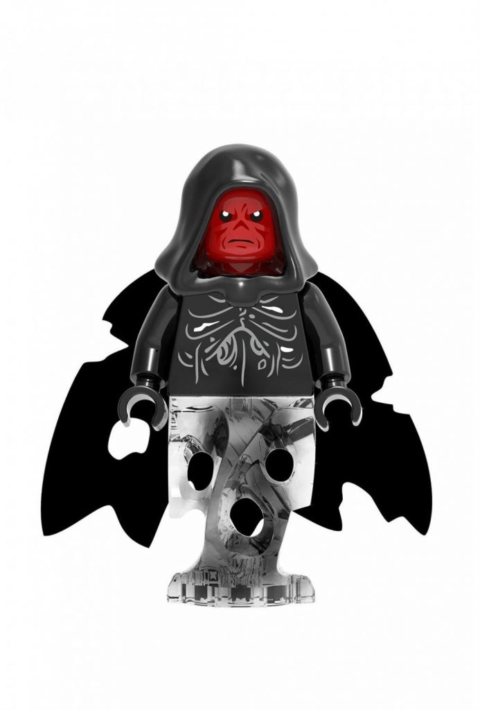 Captain America movie Red Skull Minifigures Compatible Lego Super Heroes Toy