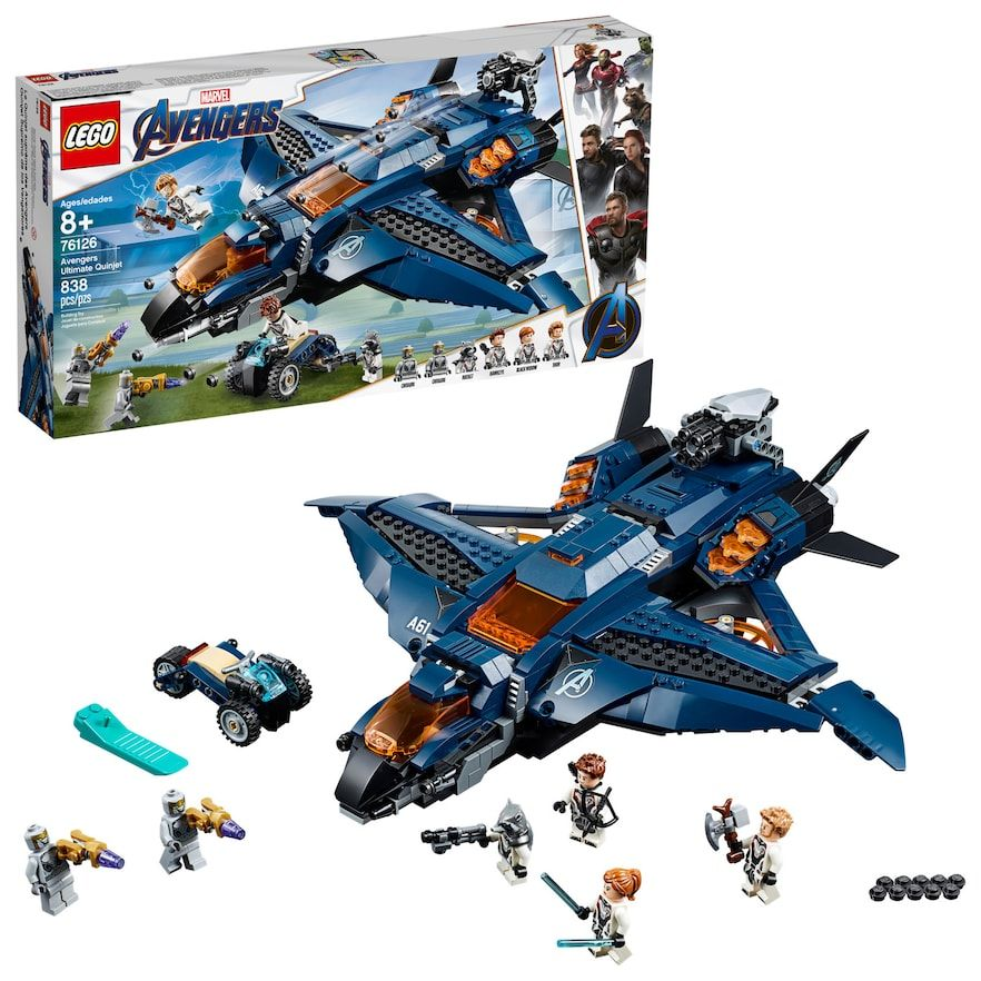 LEGO Super Heroes Avengers Ultimate Quinjet 76126