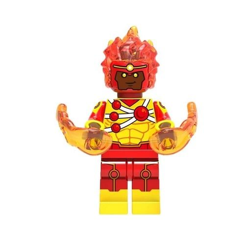 01 Big Bricks Custom Firestorm Mavrel DC SuperHeroes Minifigures Toy Mini figure Fit Lego Blocks XH756