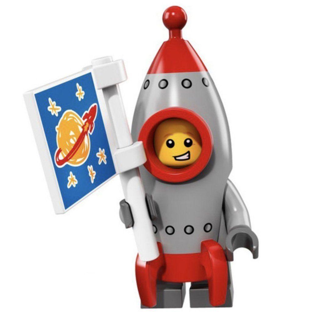Minifig Rocket Boy