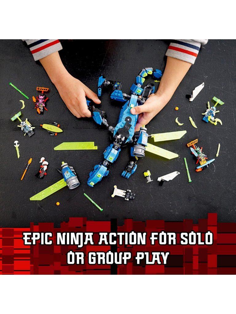 Lego Ninjago 71711 Jay'S Cyber Dragon Mech Action Figure – One Colour –