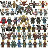 Lego Avengers Minifigures 250 Marvel DC Thor Infinity War End Game Super Heroes  | eBay