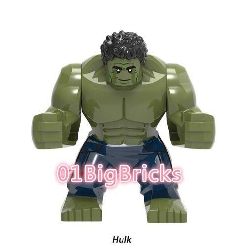 Hulk  Avengers 4 Endgame Custom Minifigs Fit Lego