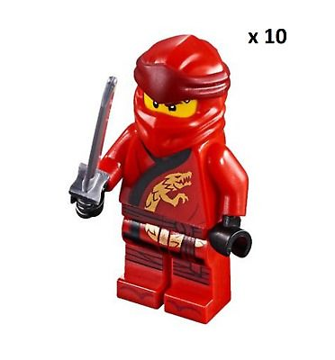 Ad – x10 – LEGO NINJAGO spinjitzu Kai minifigures | BULK | NEW | 70659 | Dragon …