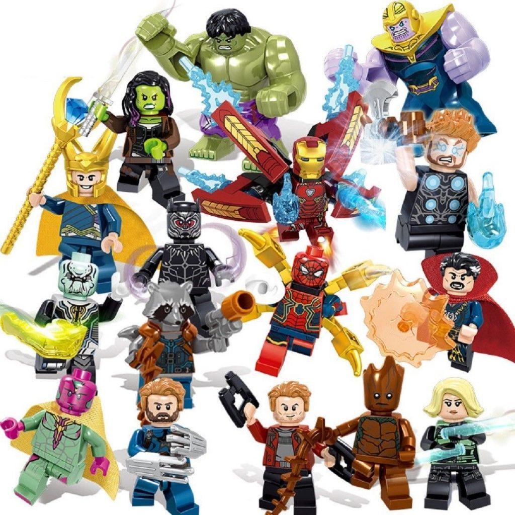 Marvel Super Heroes Avengers 3 Infinity War Action Figure LEGO COMPATIBLE SET – Walmart.com
