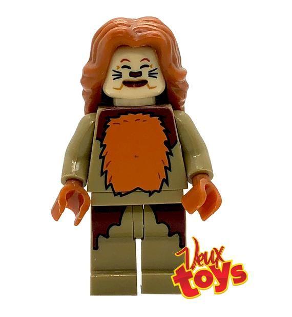 Wizard oz Custom Minifigure Set Dorothy, Scarecrow, Tin Man, Cowardly Lion