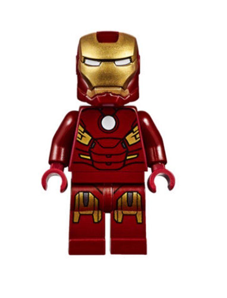 LEGO ® Avengers – Iron Man Mark 7 Minifigur MK7 Super Heroes