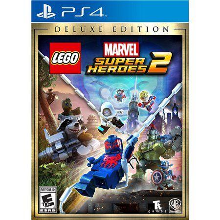 Lego Marvel Super Heroes 2 Deluxe Edition (PS4) Warner Bros. – Walmart.com