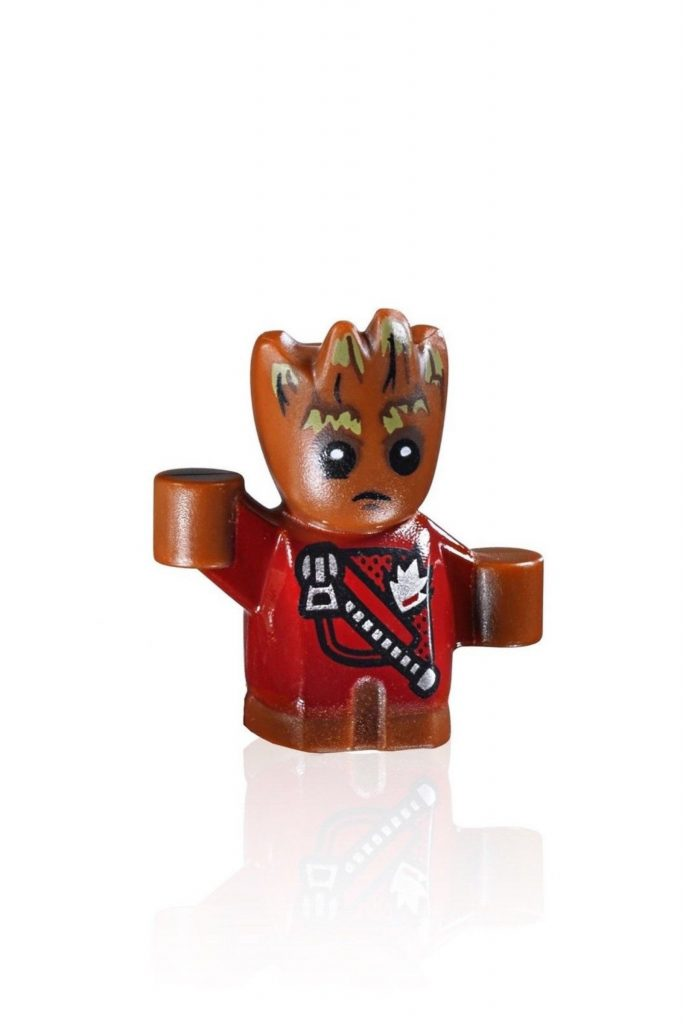 LEGO Super Heroes: Guardians of the Galaxy MiniFigure – Baby Groot (Red Jacket)