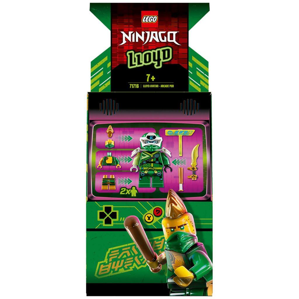 LEGO Ninjago: Lloyd Avatar – Arcade Pod (71716)