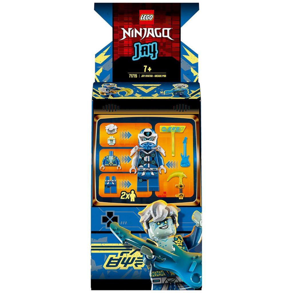 LEGO Ninjago: Jay Avatar – Arcade Pod (71715)