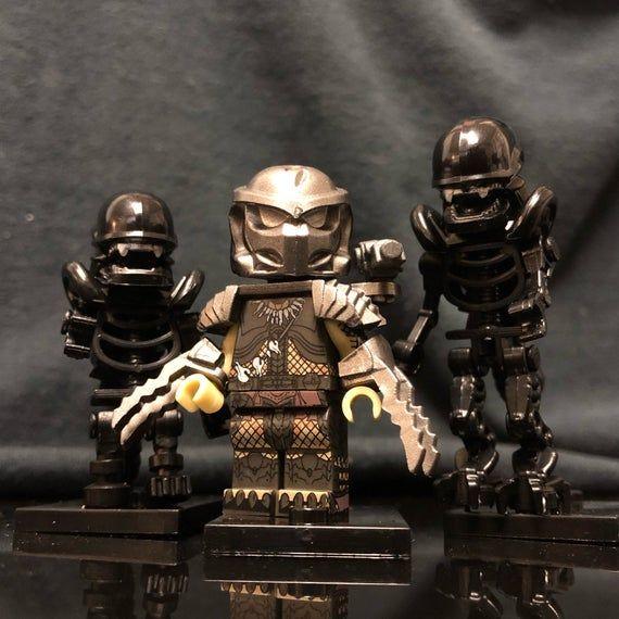 Alien Vs Predator Custom Minifigure Set | AVP