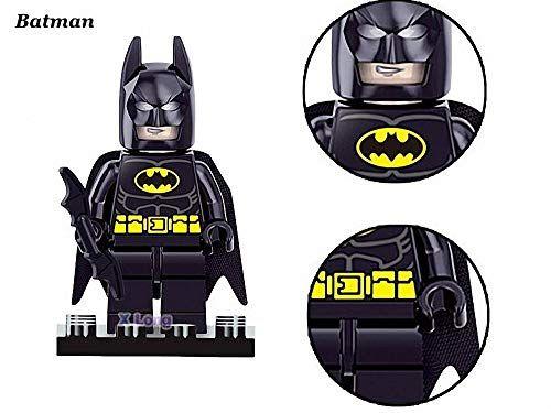 8 Pieces Minifigures Super Heroes Set Building Blocks Action Figures Toy, Kids Gift 0007