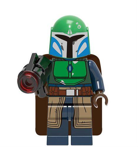 Mandalorian Warrior Star Wars Minifigs Minifigure