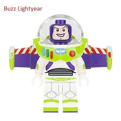 Lego Series Buzz Lightyear Desenho Animado Bonecos Blocos De Construção Brinquedo de personagem tijolos  | eBay