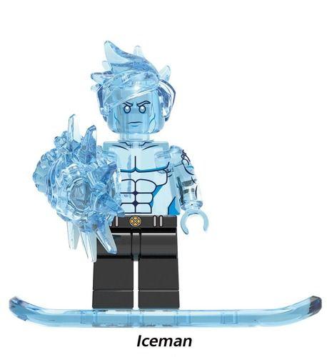Icemen X-Men DC Super Heroes Custom Minifigs