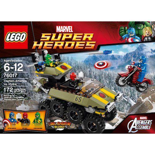 LEGO Super Heroes Captain America vs. Hydra Play Set – Walmart.com