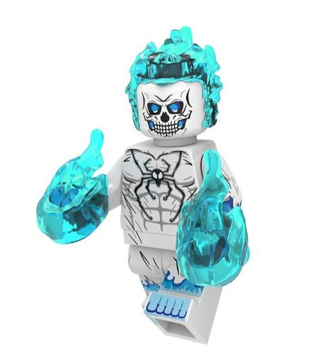 Ghost Spider Spider-Man Custom Marvel Super Heroes Minifigs Minifigures Fit Lego XP209