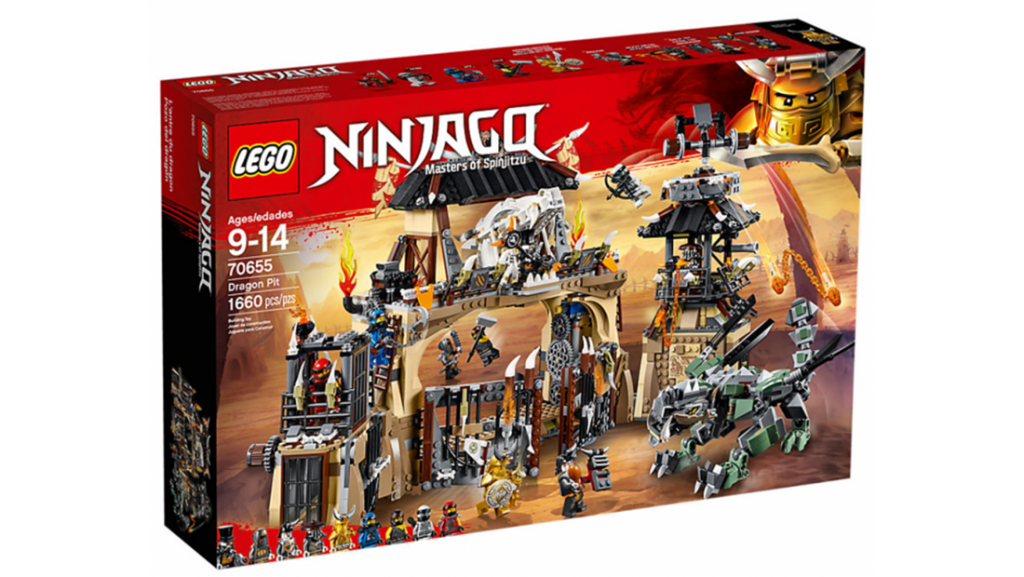 (CLOSED) Enter for a Chance to Win: Voucher For LEGO Ninjago Dragon Pit