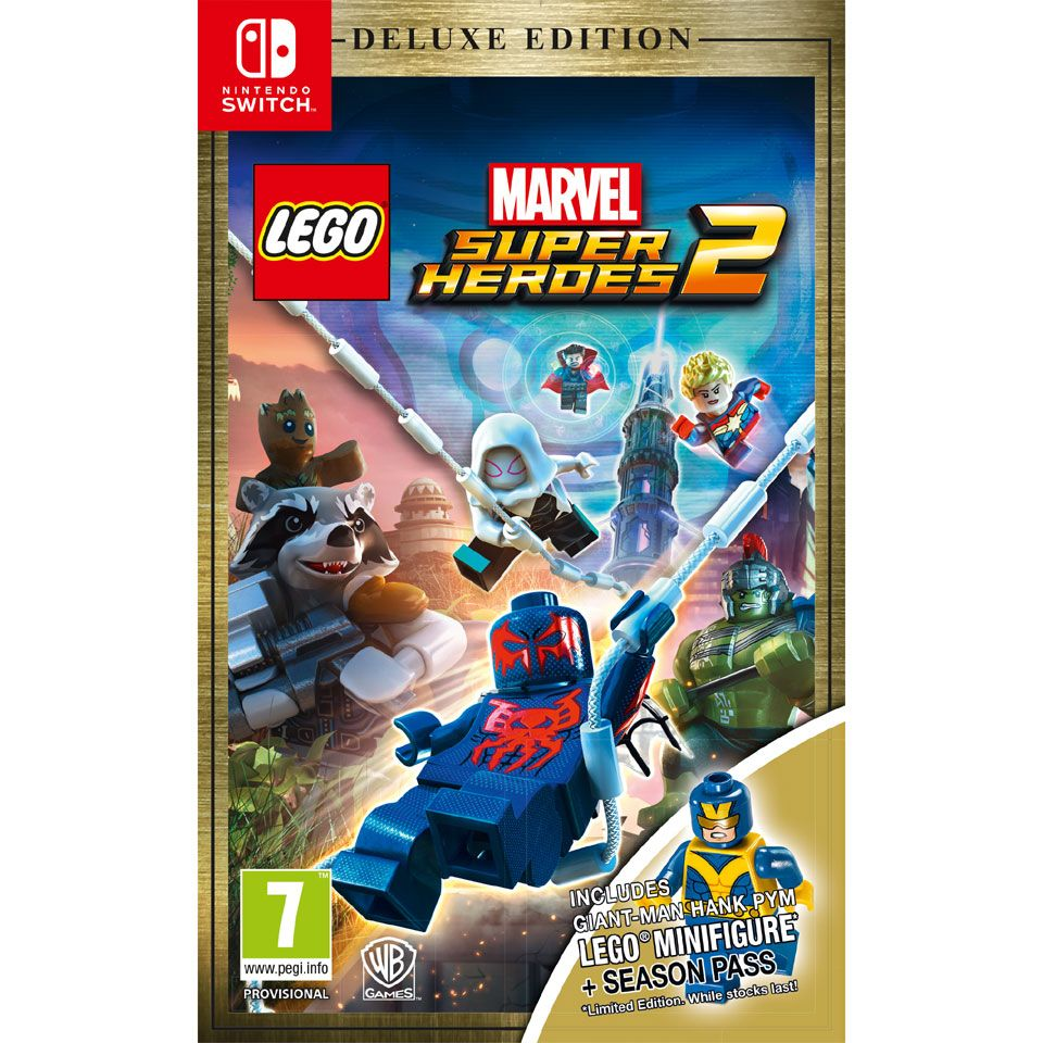 Nintendo Switch LEGO Marvel Super Heroes 2 Deluxe Edition