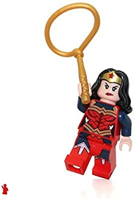 LEGO DC Super Heroes Minifigure – Wonder Woman (with Lasso) 2017 Exclusive Movie Version