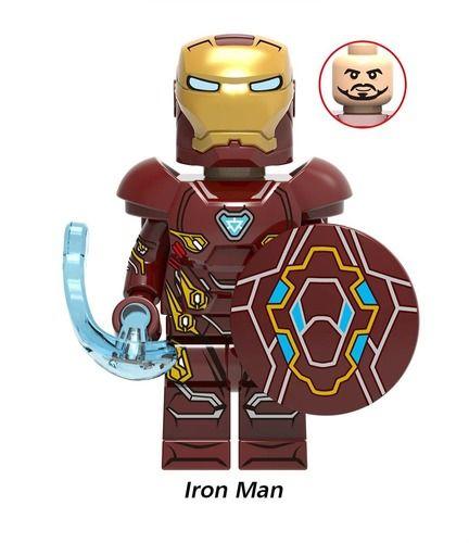 Iron Man Avengers Endgame Custom Mavrel DC Super Heroes Minifigs Minifigures Fit Lego X1277