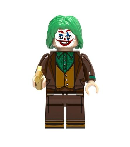 Joker Custom Mavrel DC Super Heroes Minifigs Minifigures Fit Lego Blocks X1020