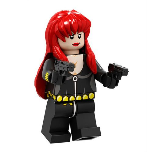 Black Widow Custom Marvel DC SuperHeroes Minifigs Fit Lego P1693