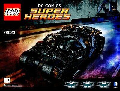 LEGO Super Heroes – UCS 76023 Batman Tumbler – No Box (New & Sealed Contents)