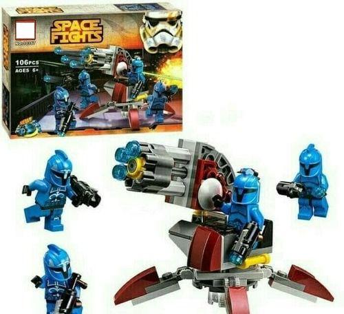 STAR WARS Space Fights Senate Commando Trooper