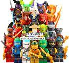 LEGO NINJAGO MINIFIGURES SETS ZANE COLE NYA KAI JAY GOLDEN DRAGON LLOYD MINIFIGS  | eBay