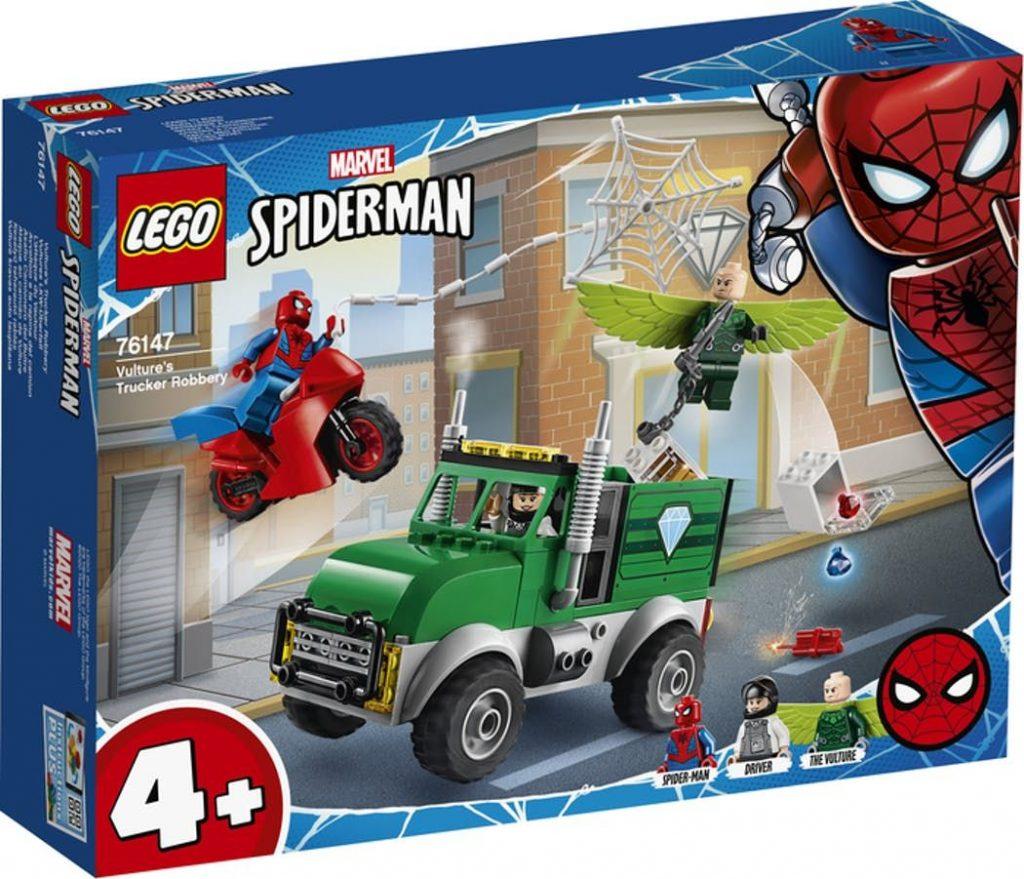 LEGO Super Heroes Vultures lastbilsrøveri 76147 | Køb online på Føtex.dk