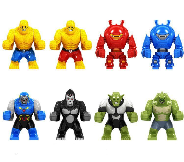 Big Super Heroes Minifigures Compatible Lego Marvel sets