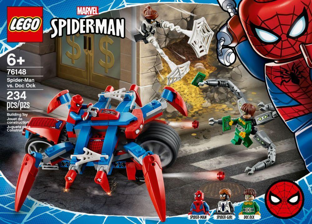 LEGO – Marvel Spider-Man: Spider-Man vs. Doc Ock 76148