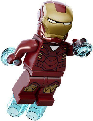 LEGO Super Heroes: Iron Man Minifiguren (Mark 6)
