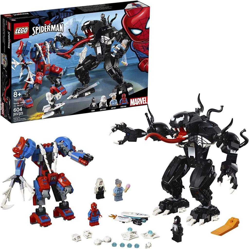 LEGO Super Heroes Marvel Spider Mech Vs. Venom 76115 Action Toy Building Kit