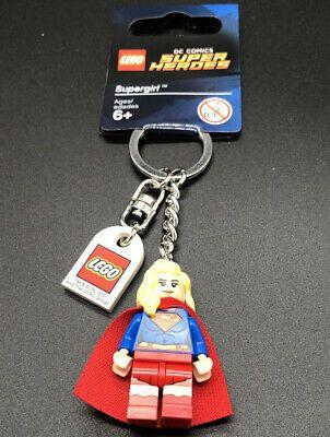 Lego DC Super Heroes Supergirl Keychain/Keyring – Minifigure Series 853455 673419253239 | eBay