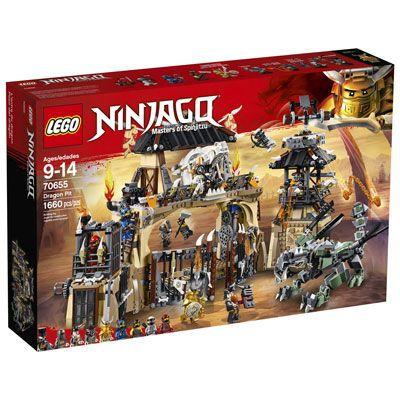 LEGO Ninjago: Dragon Pit – 1660 Pieces (70655)