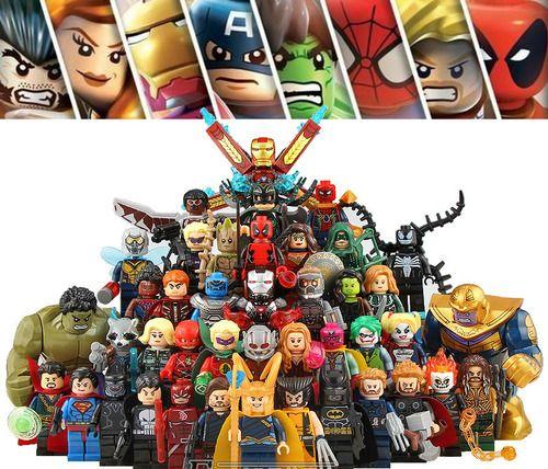 42PCS Avengers Marvel Super Heroes Minifigs