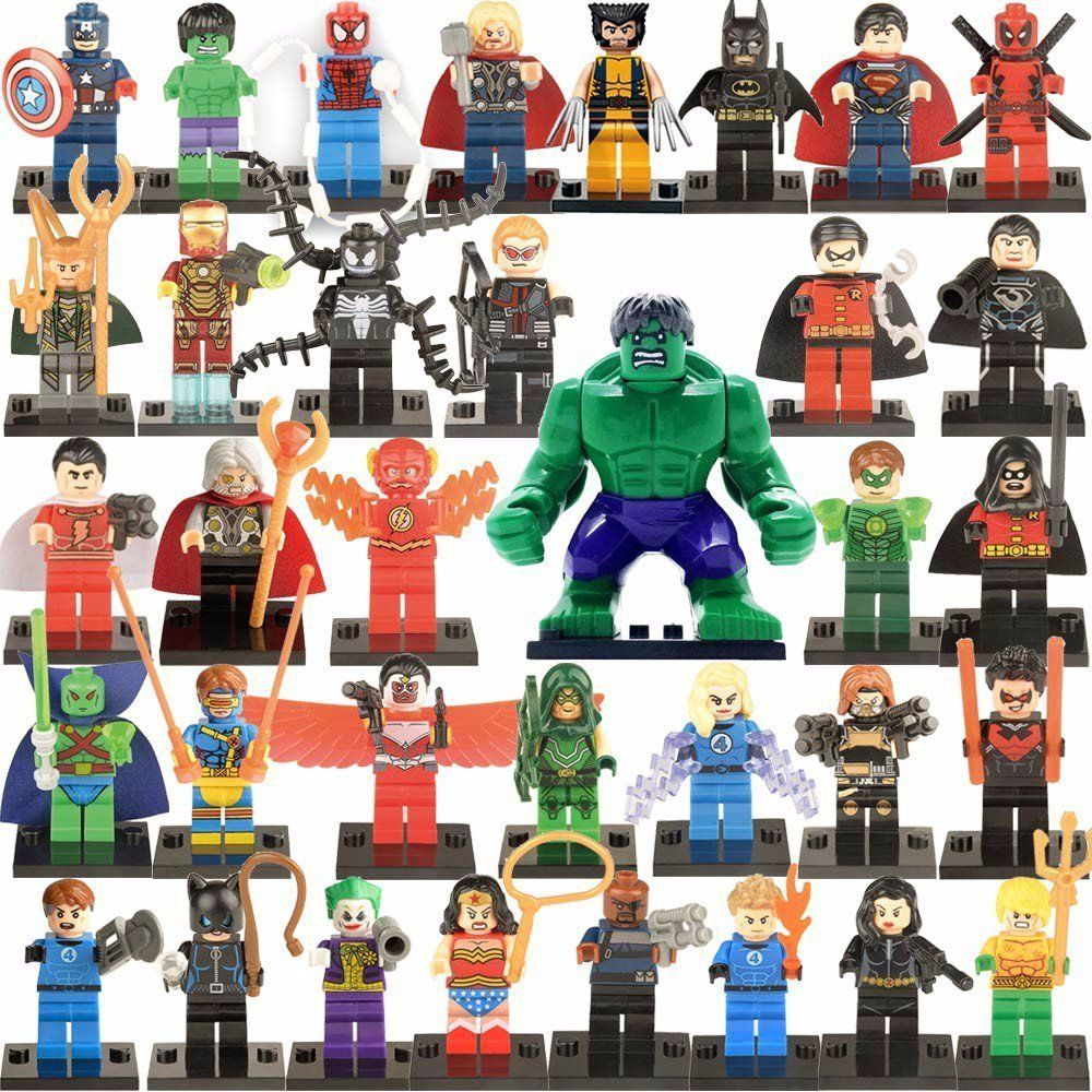Avengers 3 Marvel Super Heroes Minifigures Lego Super Heroes sets Compatible Toy