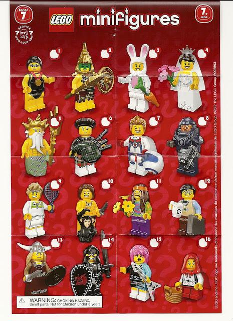 LEGO minifigure series 7
