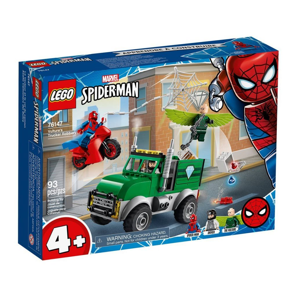 LEGO 76147 Marvel Super Heroes Vulture's Trucker Robbery – Entertainment Earth