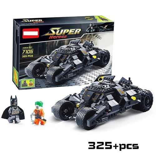 Batman Race Truck Car The Dark Knight Building Blocks
