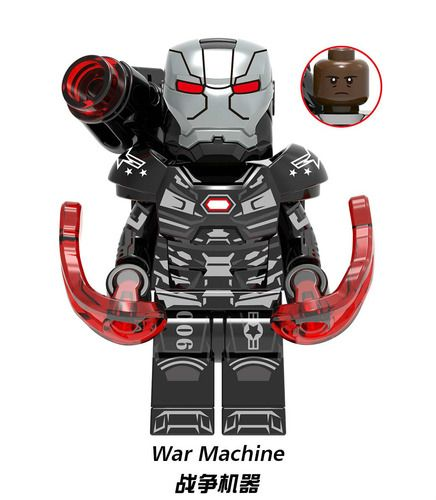 War Machine MK 6 Avengers Endgame Minifigs
